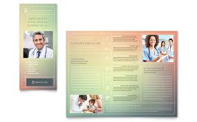 office brochure templates clinic brochure template design