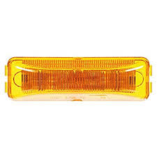 truck lite marker lights amazon com truck lite 19250y 19 series yellow led marker clearance