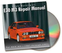 bmw e30 model bmw e30 m3 repair manual on cd rom zionsville autosport