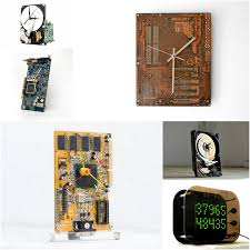 cool clock homemade clocks that are not bombs handmadeology