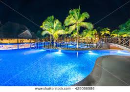 Pool At Night Swimming Pool Night Stock Images Royalty Free Images U0026 Vectors