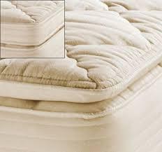 pedic natural organic cotton pillowtop mattress pads