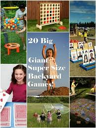 Outdoor Backyard Games Condo Blues 20 Super Fun Super Sized Outdoor Games