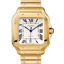 cartier watches bracelet images The new cartier santos the first men 39 s wristwatch gets a modern jpg