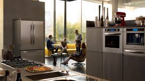 Kitchen Appliance Outlet Decor Stainless Steel Kitchenaid Appliance Package For Astounding