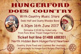 country music evening at the barn rotary club of hungerford