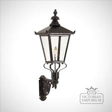 Lantern Style Outdoor Lighting by Large Cast Wall Bracket Bracketry The Victorian Emporium