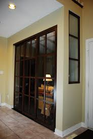 Sliding Panels Room Divider by 3 Panel Room Divider On A Triple Track 3
