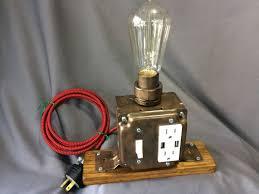 industrial desk lamp industrial desk lamp usb charging station tesla lamp