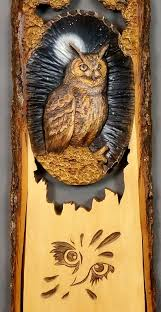wooden gift owl carved wood carving wall wooden bird