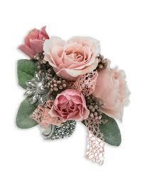 wrist corsage blush wrist corsage in allentown pa phoebe floral shop