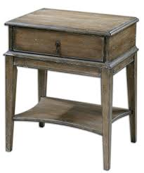 contemporary accent tables uttermost hanford weathered accent table farmhouse style decor