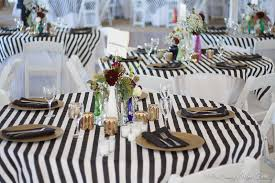 Black Gold Wedding Decorations Black White And Gold Rustic Chic Wedding
