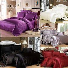 Satin Bedding Satin Bedding Sets And Duvet Covers Ebay