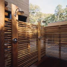 Simple Outdoor Showers - 12 luxurious outdoor showers design milk