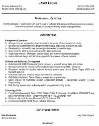 Sql Resume Example by Successful Resume Examples