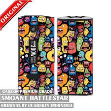 Original Garskin Skin Mod Vape Smoant Battlestar Carbon 3d jual original garskin skin mod vape smoant battlestar doodle murah