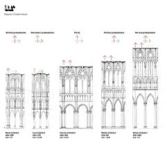 gothic floor plans architecture becomes music thinkpiece architectural review