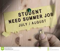 Jobs Search by Summer Job Seasonal Jobs Search Stock Illustration Image 56067773