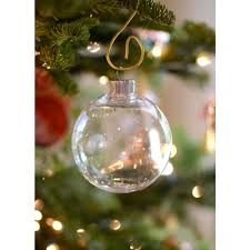 clear plastic ornament 83mm 2610 62 craftoutlet