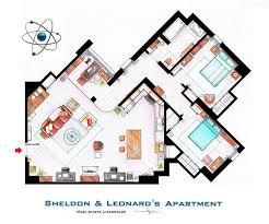 742 Evergreen Terrace Floor Plan Famous Tv Show Floor Plans Woahdude