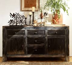 Media Console With Hutch Dawson Media Console Pottery Barn