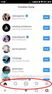 buat akun instagram via operamini buka caranya masuk instagram lewat opera mini tanpa aplikasi ig