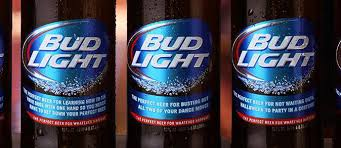 bud light in the can bud light drinkers must really be up for whatever to grab one of