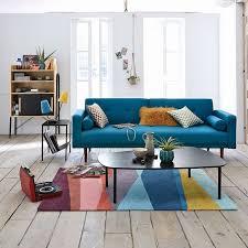 canapé ées 70 table allonge und canapé 2 places petit pour deco chambre frische