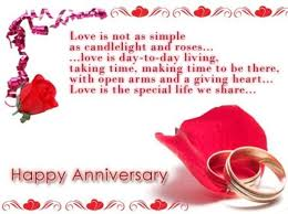 creative 45th wedding anniversary poem with beautiful happy