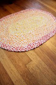 Rag Rugs For Kitchen 58 Best Braided Tshirt Rugs Images On Pinterest Braided Rag Rugs