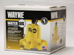 wayne wwb waterbug submersible pump with multi flo technology