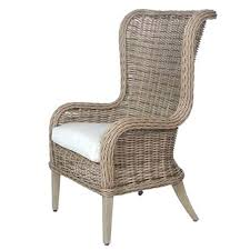 Modern High Back Wing Chair Leather Wing Dining Chairs Chair Table Wingback Upholstered White