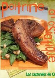 cuisiner poitrine de porc poitrine de porc à l asiatique vert légumes