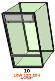neherp vivarium builder 10 gallon vertical enclosure