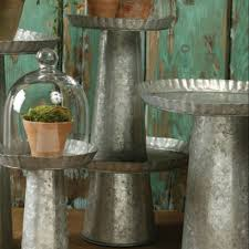 galvanized cake stand galvanized cake stands a variety of sizes and affordable