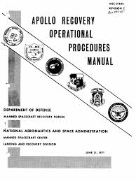apollo recovery ops manual apollo lunar module apollo spacecraft