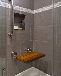 amazing teak fold up shower seat jack london regarding down bench
