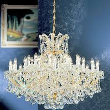 Maria Theresa 6 Light Crystal Chandelier Classic Lighting Maria Theresa 31 Light Crystal Chandelier