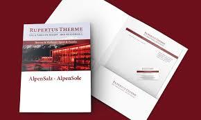 Bad Reichenhall Therme Corporate Design Rupertusttherme Bad Reichenhall Klassische Medien