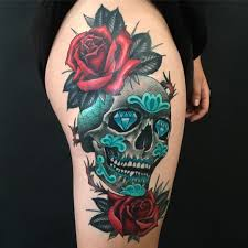 30 amazing and inspiring sugar skull tattoos designwrld