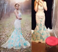 aliexpress com buy pastel light blue halter straps beaded lace