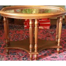 removable tray top table cherry accent table with removable tray top ebth