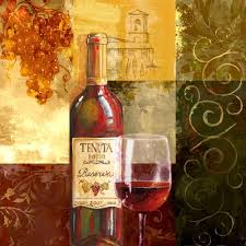 aliexpress com buy still life bottle of red wine goblet canvas