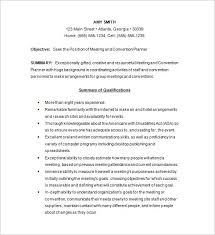 Activities Coordinator Resume Resume For Event Coordinator Lukex Co