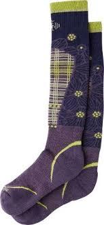 smartwool phd ski light pattern socks smartwool women s phd ski ultra light pattern socks ink l