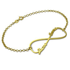 gold personalized bracelets infinity name bracelet gold color personalized bracelet with any