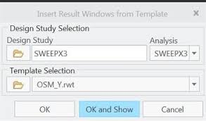 simulate results template rwt not showing in drop ptc user