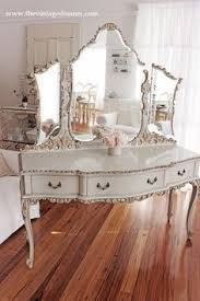 Shabby Chic Vanity Table by Willis U0026 Gambier Florence Bedroom Dressing Table Including Mirror