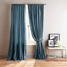 108 Inch Black And White Curtains Dkny City Streets 108 Inch Window Curtain Panel In Teal Curtains
